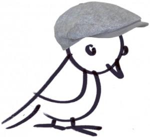 Lerchi mit Mütze