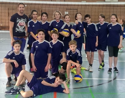 Mixed-Volleyball Meisterschaft (Kl. 5-7)