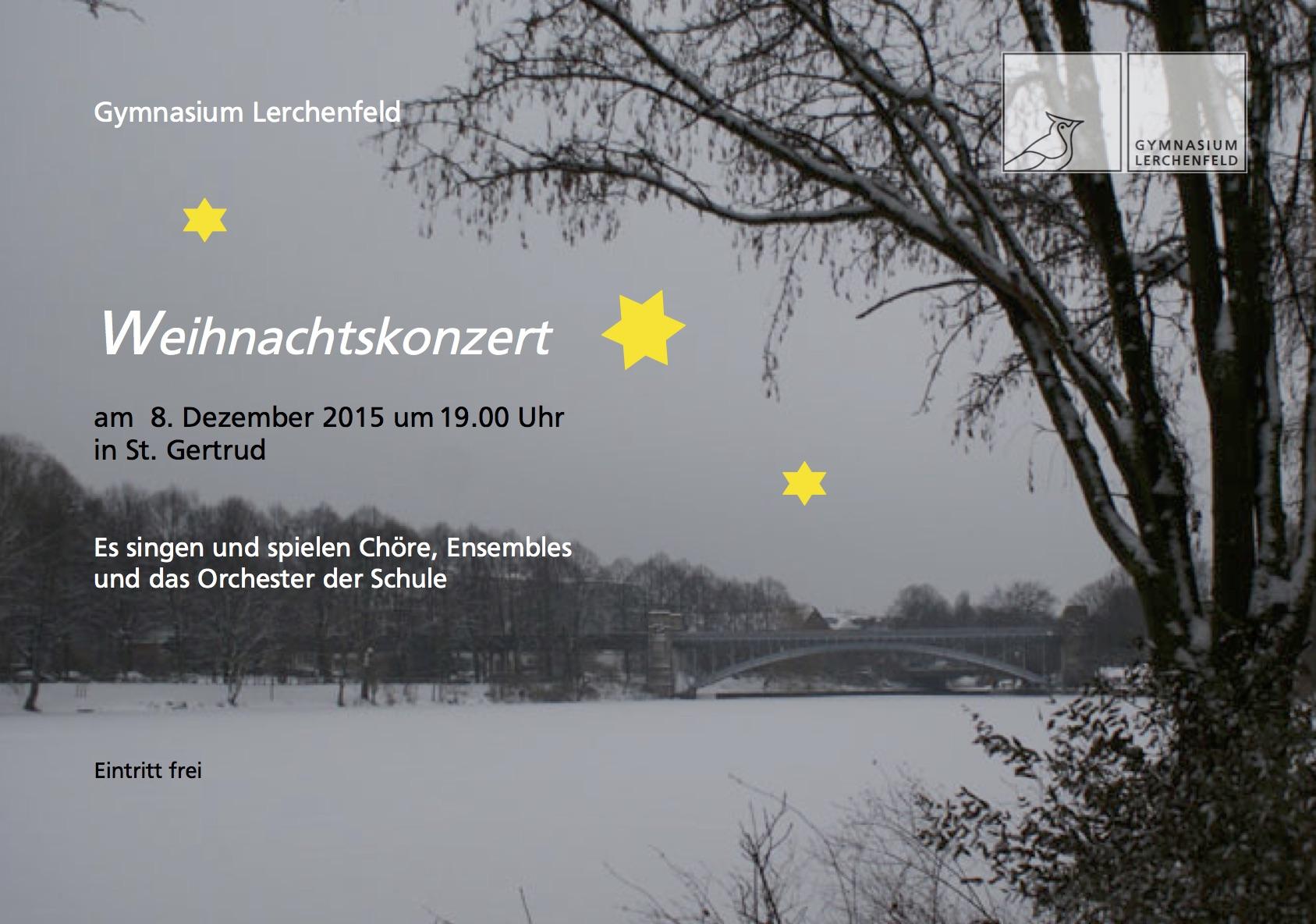 Plakat_Weihnachtskonzert 2015